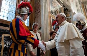Franciszek: w tym tkwi skuteczność i rzetelna służba gwardzistów