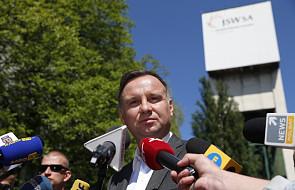 Prezydent: warunki akcji ratowniczej w kopalni Zofiówka są trudne
