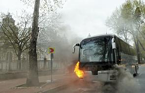 Pożar polskiego autobusu z pielgrzymami. Jechali z Medjugorie