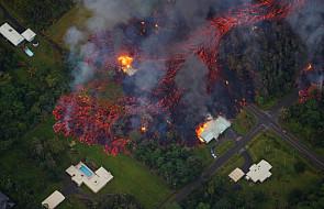 USA: ponad 1700 osób ewakuowano po erupcji wulkanu na Hawajach