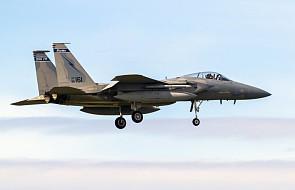 Amerykański myśliwiec F-15 rozbił się w pobliżu wyspy Okinawa