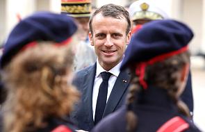 """Prezydent Francji Emmanuel Macron o sprawie """"Aquariusa"""": nie ulegajmy emocjom"""