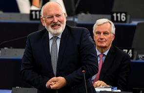 Timmermans apeluje do polskiego rządu o kolejne zmiany ws. sądownictwa