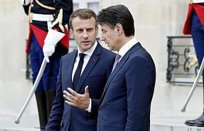 Macron i Conte chcą utworzenia centrów dla migrantów w krajach pochodzenia