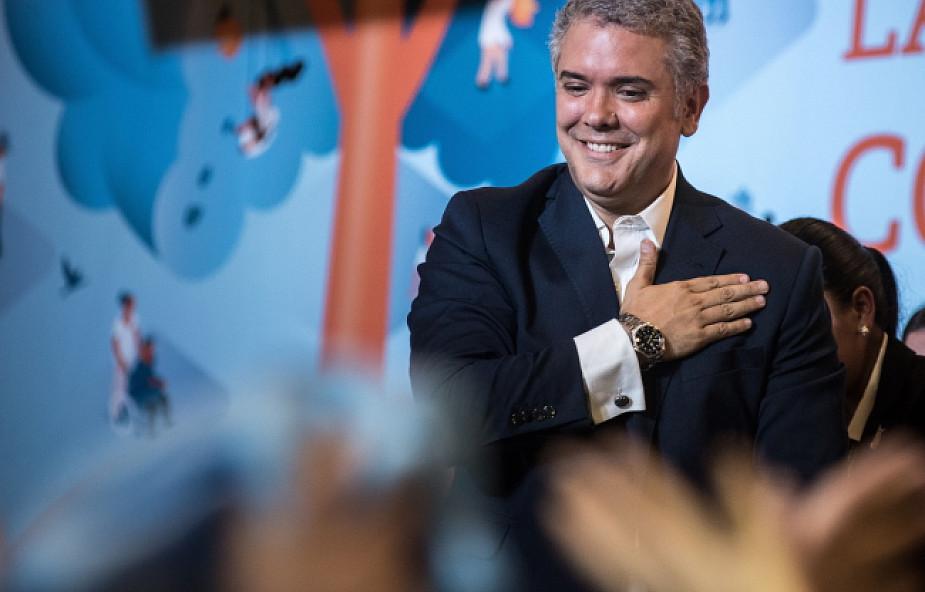 Zwycięzca wyborów prezydenckich w Kolumbii zapowiada rewizję układu z FARC