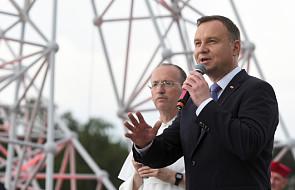 Prezydent w Lednicy: polska młodzież jest razem, śpiewa pieśni, modli się (...). Jakże bardzo wam za to dziękuję