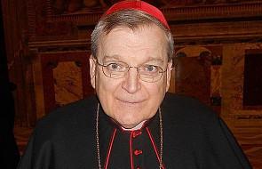 Kard. Burke: Polska jest promykiem nadziei dla Kościoła i świata [WYWIAD]
