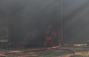 Jarosławiec: spłonęło przedszkole, budynek nie nadaje się do odbudowy