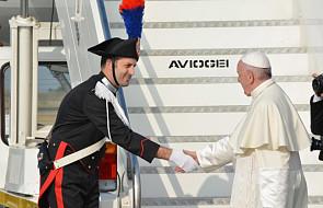 Papież Franciszek przybył do Genewy