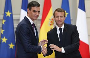 Macron za sankcjami dla krajów UE odmawiających współpracy ws. imigracji