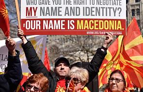 Macedonia: wielotysięczne protesty przeciwko zmianie nazwy państwa