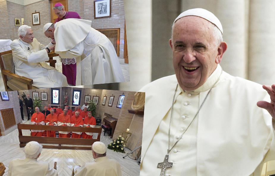 Wyjątkowe spotkanie w Watykanie: nowi kardynałowie u Benedykta XVI