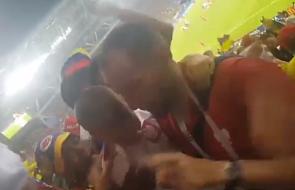 Wzruszające nagranie z meczu Polska-Kolumbia, które niedawno ujrzało światło dzienne [WIDEO]
