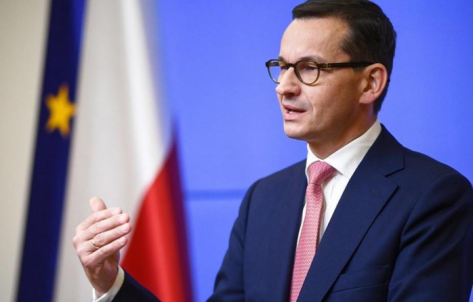Premier: ws. uchodźców stanowisko Polski jest teraz stanowiskiem UE