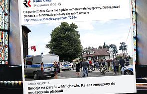 Biskup rozpoczął procedurę usunięcia z parafii proboszcza z Mnichowa