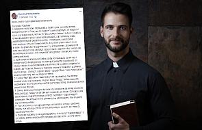Internautka napisała, jak powinni zachowywać się księża. Kapłani skomentowali post