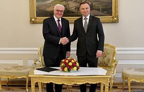 Rozpoczęła się wizyta prezydenta Niemiec w Polsce
