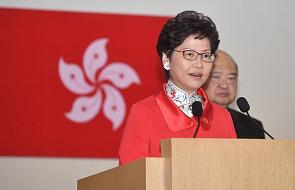 Hongkong: nie będziemy tolerować sprzeciwu wobec Pekinu