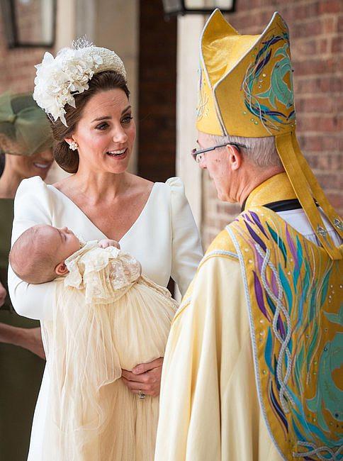 Wczoraj ochrzczono syna Kate i Williama. Woda święcona pochodziła ze szczególnego miejsca - zdjęcie w treści artykułu