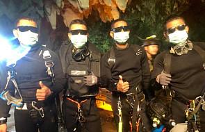 Premier Tajlandii podziękował uczestnikom akcji ratunkowej w jaskini