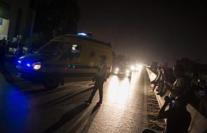 Egipt: silna eksplozja w pobliżu lotniska w Kairze, 12 rannych