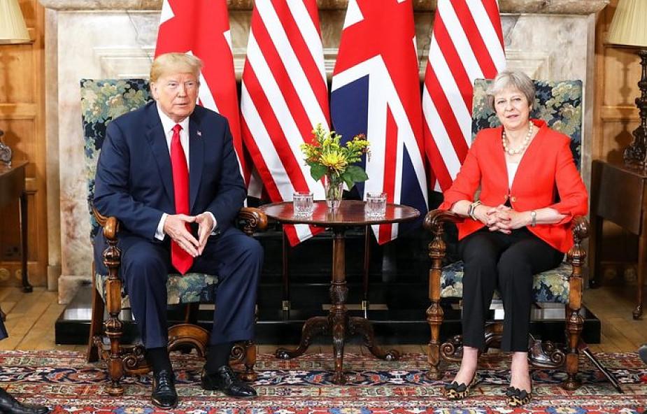 Donald Trump: nigdy nie mieliśmy lepszych relacji z May