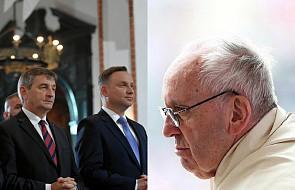 Abp Gądecki w obecności polskich władz przypomniał słowa papieża na temat prawa