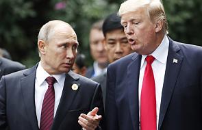 Spotkanie Donalda Trumpa i Władimira Putina w XIX-wiecznym pałacu w Helsinkach