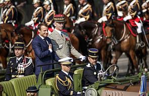 Francja: na Polach Elizejskich wielka defilada wojskowa w Dzień Bastylii