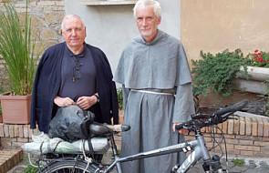 """Polski misjonarz pielgrzymował na rowerze z Afryki do Europy. """"Spełnił swoje marzenie"""""""