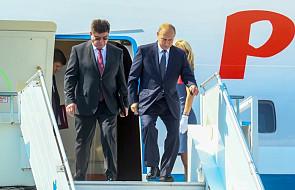 Prezydent Putin przybył do Helsinek na szczyt z prezydentem Trumpem