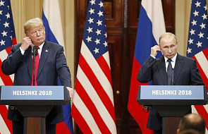 """Spotkanie Trumpa i Putina przebiegło w otwartej atmosferze. """"Nie ma obiektywnych przyczyn dla napięć"""""""
