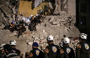 Izrael ewakuował z Syrii 800 osób związanych z Białymi Hełmami