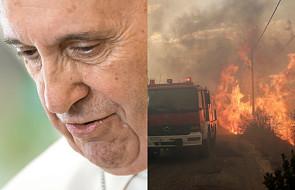 Papież wyraża głęboki smutek i szczerą solidarność z dotkniętymi tragedią w Grecji