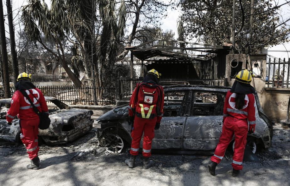Caritas Polska pomaga poszkodowanym w pożarach w Grecji
