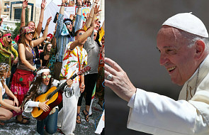 Papież błogosławi pielgrzymce hipisów. To błogosławieństwo przekazał kard. Krajewski