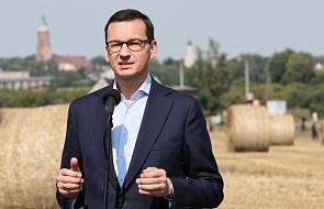 Morawiecki: jak będzie trzeba, znowelizujemy budżet w związku z odszkodowaniami dla rolników