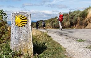 """Chcieliśmy wszystko zacząć od Camino, na plecakach napisaliśmy """"just married"""""""