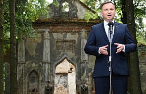 Ukraina / Duda: relacje polsko-ukraińskie muszą opierać się prawdzie historycznej