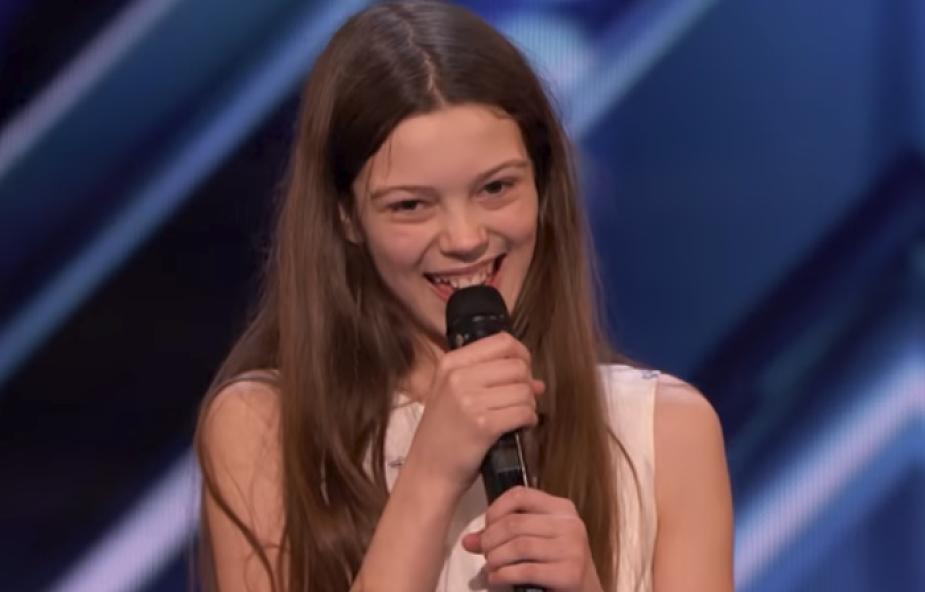Nieśmiała 13-latka pokonała strach i zachwyciła publiczność Mam Talent! [WIDEO]