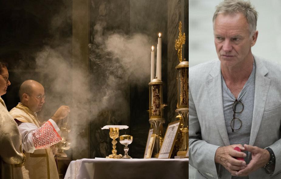 Sting o byciu ministrantem, tradycyjnej mszy i Sądzie Ostatecznym