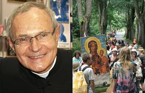 Muzykalny biskup Długosz ruszył w tango z uczestniczką pielgrzymki hipisów