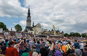 Jasna Góra: Ponad 8 tys. osób dotarło w 38. Pieszej Pielgrzymce Krakowskiej