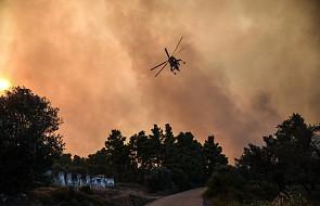 Grecja: ewakuowano dwie miejscowości na wyspie Eubea z powodu pożarów