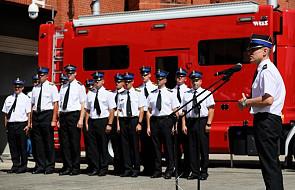 Poznań: wielkopolscy strażacy nagrodzeni za akcję gaśniczą w Szwecji