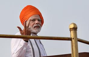Indie: premier Modi chwali swój rząd na 71-lecie niepodległości