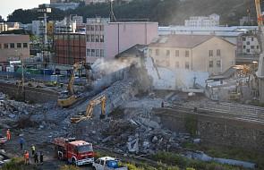 Włochy: elementy konstrukcji możliwą przyczyną katastrofy budowlanej w Genui