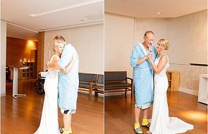 W dniu ślubu tata panny młodej przebywał w szpitalu. Ceremonię przeniesiono właśnie tam