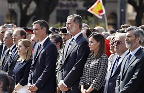 Hiszpania: setki ludzi w Barcelonie na uroczystościach w rocznicę zamachów