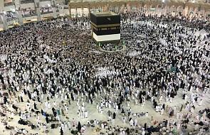 Arabia Saudyjska: ponad 2 mln muzułmanów na pielgrzymce w Mekce